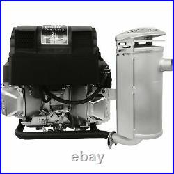 Kohler Vertical-Mount Engine Muffler- Oil Filter Side Discharge Confidant Engine