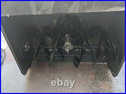 Kraftman Two Stage Snow Blower opened never used