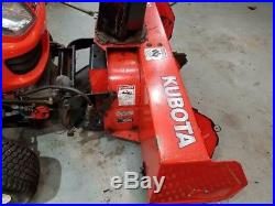 Kubota GR2707 Snow Blower 2707 and