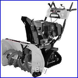 LUMAG SFK80 76cm Schneefräse SFK-80 Raupenlaufwerk + Scheinwerfer + Griffheizung
