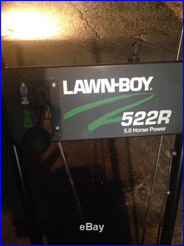 Lawn Boy Snow Blower 522R Toro