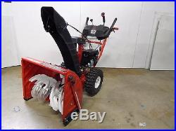 Local Pick Up Troy Bilt 24 2 Stage Snow Blower Electric Start Power Steering