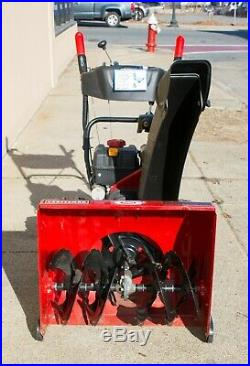 (MA5) Craftsman 24 208cc Dual-Stage Snow Thrower with Electric Star