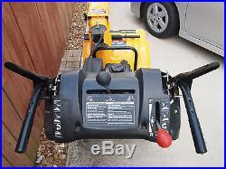 MINT Poulan PRO 208cc 24in electric start 2 Stage Snow Thrower PR624ES blower