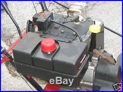 MTD YARD MACHINE SNOWBLOWER 10 HP 24 ELECTRIC START TECUMSEH ENGINE