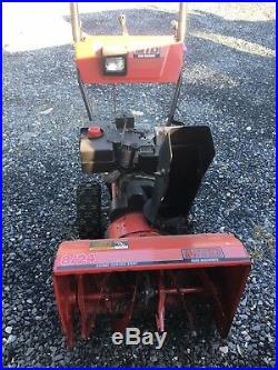 MTD Yard Machine 8/24 Snow Blower, Works Well Serviced and In Storage Now 2 Year