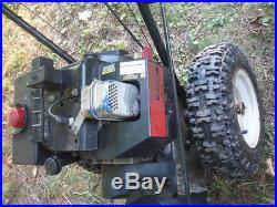 MTD Yard Machines Snow Blower 8 HP/26very well maintained