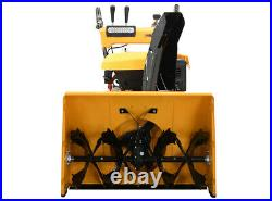 Massimo Snow Blower 30 208cc 2-Stage Electric Start Gas LED Lights Easy Use