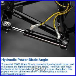 Meyer Home Plow (80) Power Angle Full Hydraulic Snow Plow
