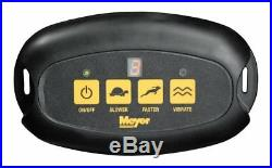 Meyer Products Receiver Mount Broadcast Spreader, Base Line 240R (31100)