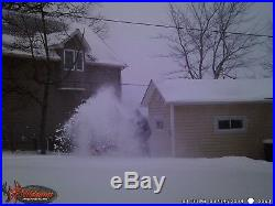 Montgomery Ward/Gilson 8 HP electric start snowblower