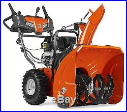 NEW Husqvarna Snowthrower Electric Start 208cc 24-Inch Two Stage Works Great USA