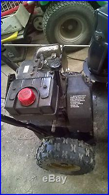 NOMA 5HP SNOW THROWERWELL MAINTAINEDUSEDLOCAL P/U