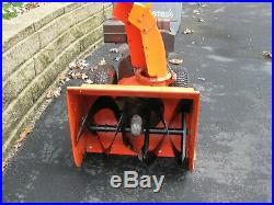 NO SHIPPING ST824 Ariens 24, 2 Stage, Electric Start, Snowblower Snow thrower