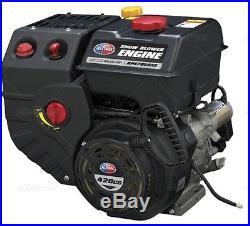 New 15 H. P. Gas Motor 110 Volt Electric Start Go Kart Snow Blower 422 C. C