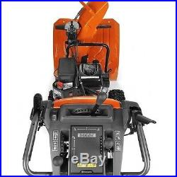 New 24-Inch Two Stage Electric Start Snowthrower Blower Tool