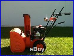 New 6.5Hp OHV Two Stage Snowblower Free Shipping in the USA Electric Start