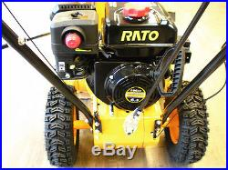 New Gas Snowblower 6.5 Hp FREE SHIPPING electric start