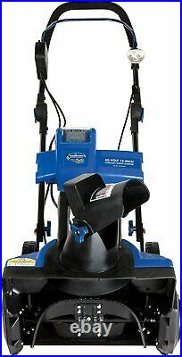 New! Snow Joe iON Cordless Single Stage Snow Blower-18 Inch-40 Volt-Brushless