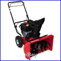 New Yard Machines 22 Inch 179cc Ohv Engine 2 Stage Gas Snow Thrower