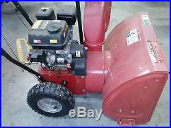 POWERLAND SNOW THROWER PDST24 24 CUT USED