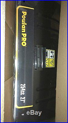Poulan PR 270 27 2 Stage Electric Start Gas Snow Blower 254cc 7 Speed