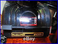 Poulan Pro Snow Thrower 24 800 Snow Blower