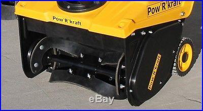Pow'R'kraft 18 Snow Blower w/87cc 110v Electric Start 2 Year Warranty