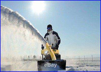Pow'R'kraft 24 Snow Blower Snow Thrower w/212cc ElectricStart ~ 2 Year Warranty