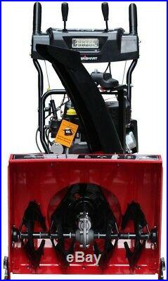 PowerSmart 26 In Gas Snow Blower 2-Stage Electric Start Headlight Self-Propelled