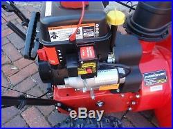 PowerSmart DB7651 2 Stage 24 208 cc Snow Blower, Electric Start