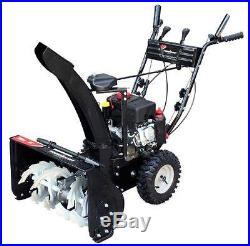 Power Smart DB7659A 24-inch 208cc LCT Gas Powered 2-Stage Snow Thrower