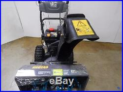 Premium Brands 24 2 stage Snow Blower with Electric Start Heated Hand Grips MTD