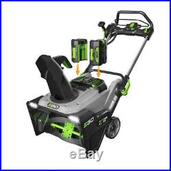 Reconditioned 21 in. 56v lith-ion cordless single stage electric snow blower