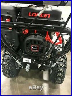 Refurbished 30 Inch Two Stage Snow Blower, Heated Handles Dirty Hand Tools
