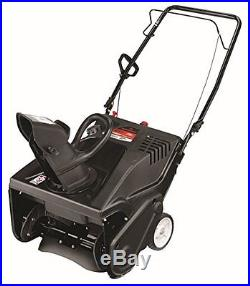 Remington RM2120 123cc 21-inch Electric Start Single-Stage Snow Thrower