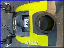 Ryobi 40V cordless snow blower