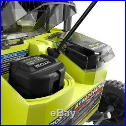 Ryobi Electric Snow Blower 20 in. 40-Volt Brushless Cordless LED Headlights New