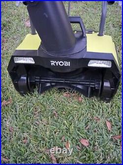 Ryobi RY40805 40volt Cordless Brushless 20inch Snow Blower. Tool Only