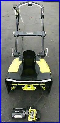 Ryobi RY40860 21 in. 40V Brushless Cordless Snow Blower KIT, GR