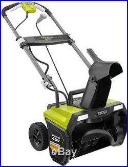 Ryobi Snow Blower 40-Volt Brushless Cordless Electric 5.0 Ah Battery Charger