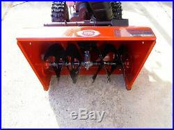 SEARS CRAFTSMAN SNOW BLOWER THROWER MODEL 247.886400 Dual-Stage Zero-Turn 208cc