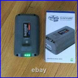 SNOW JOE iON18SB 40-Volt iONMAX, WITH CHARGER AND BATTERY GENTLY USED WORKS WELL