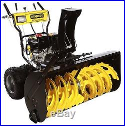 STANLEY 45SS 45-Inch Commercial 420cc Electric Start 2-Stage Gas Snow Blower