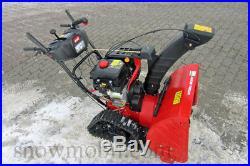Schneefräse Optima MTD ME66T zweistufig Elektrostarter Raupenantrieb Benzinmotor
