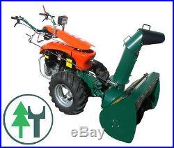 Schneefräse für Einachser KM10 Labin Progres Super Special Green Schneeschleuder