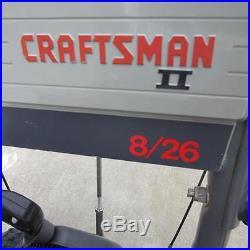 Sears Craftsman Snow Blower Thrower 21 4HP runs great Looks great garage kept