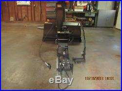 Simplicity 42 2 stage simplicity tractor snowblower, snowthrower