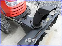 Simplicity 42 Single Stage Snow Thrower / Blower For Garden Tractors / Prestige