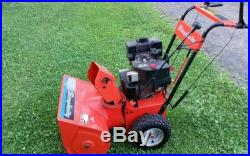 Simplicity 7hp 24 inch cut Snowblower with Electric Start